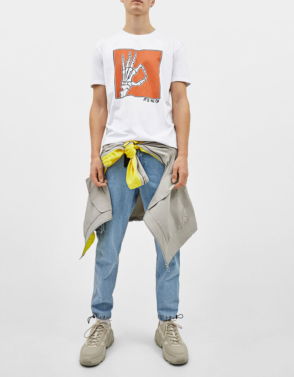 T-shirt with print
